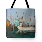 Gulf Shrimpers Tote Bag