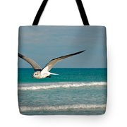Gull In Flight Tote Bag