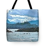 Gull Island Rookeries In Kachemak Bay-alaska Tote Bag
