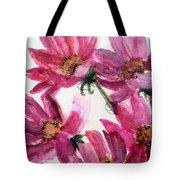 Gull Lake's Flowers Tote Bag