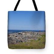 Gull Perch Tote Bag