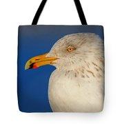 Gull Portrait Tote Bag