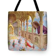 Gulliver At Lilliput Tote Bag