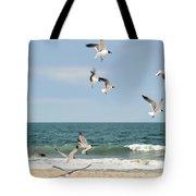 Gulls A Dance'n Tote Bag