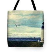 Gulls Way Tote Bag by Lianne Schneider