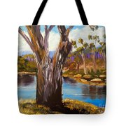 Gum Trees Of The Snowy River Tote Bag