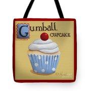 Gumball Cupcake Tote Bag