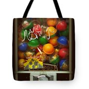 Series - Gumball Silver Bars With Graffiti - Iconic New York City Tote Bag
