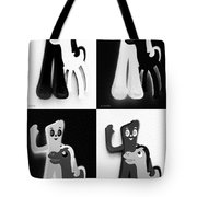 Gumby And Pokey B F F In Quad Shades 1 Tote Bag