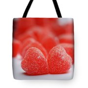 Gumdrop Hearts Tote Bag