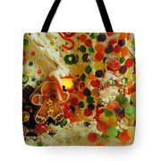 Gumdrops N Ginger Bread  Tote Bag