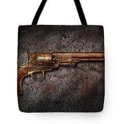 Gun - Colt Model 1851 - 36 Caliber Revolver Tote Bag
