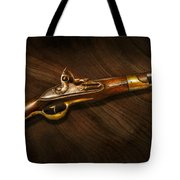 Gun - Pistols At Dawn Tote Bag