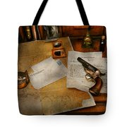 Gun - The Adventure Of Military Life  Tote Bag by Mike Savad