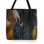 Gunfighter Tote Bag