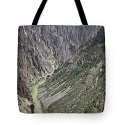 Gunnison River At The Base Of Black Canyon Of The Gunnison Tote Bag