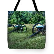 Guns Of Vicksburg Tote Bag