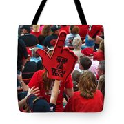 Guns-up Salute Tote Bag