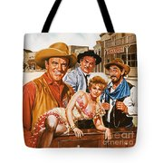 Gunsmoke Tote Bag