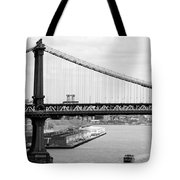 Manhattan Bridge Span Tote Bag