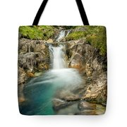 Gwynant Waterfall Tote Bag