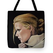 Gwyneth Paltrow Painting Tote Bag
