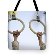 Gymnastic Rings Tote Bag
