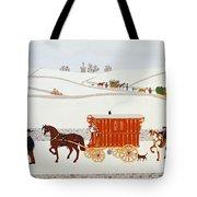 Gypsy Caravan Tote Bag