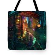 Gypsy Firefly Tote Bag