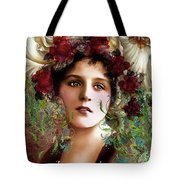 Gypsy Girl Of Autumn Vintage Tote Bag