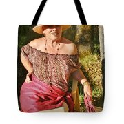 Gypsy In Cranberry Tote Bag