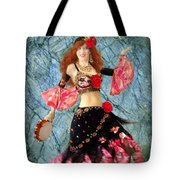 Gypsy Queen Sofia The Bellydancer Tote Bag