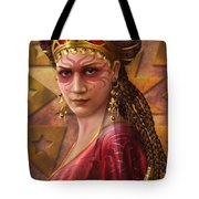 Gypsy Woman Tote Bag by Ciro Marchetti