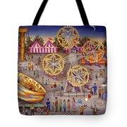 Gyro At The Carnival Tote Bag