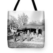 Gyspy Encampment, C1900 Tote Bag