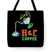 H And C Sign Tote Bag