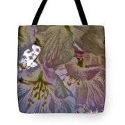 H Cherry Blossom Cont L Tote Bag