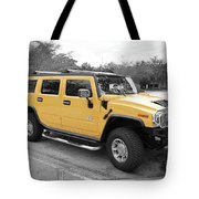 Hummer H2 Series Yellow Tote Bag