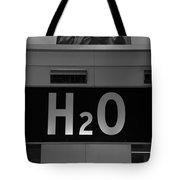 H2o In Black And White Tote Bag