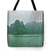 Ha Long Bay's Limestone Islands-vietnam Tote Bag