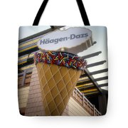 Haagen Dazs Ice Cream Signage Downtown Disneyland 01 Tote Bag