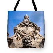 Habsburg Gate Details In Budapest Tote Bag