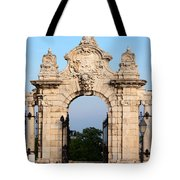 Habsburg Gate In Budapest Tote Bag