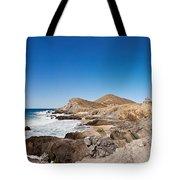 Hacienda Cerritos On The Pacific Ocean Tote Bag