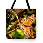 Hackberry Emperor Butterfly Tote Bag