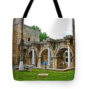 Hadrian's Gate In Antalya-turkey Tote Bag