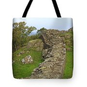 Hadrian's Wall Near Walltown Quarry Tote Bag