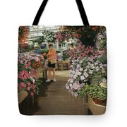 Haefner's Garden Center Impatiens Tote Bag