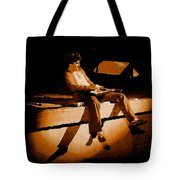 Hagar Rocking In Spokane On 2-2-77 Tote Bag
