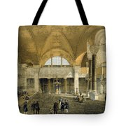 Haghia Sophia, Plate 9 The New Imperial Tote Bag by Gaspard Fossati